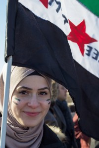 Demonstration against Assad and for a free Syria in Berlin 16.03.2013 © Claudia Ruff 2953