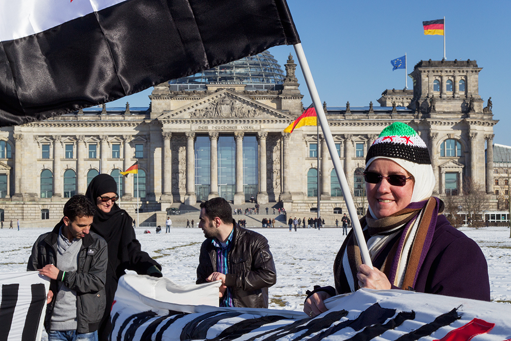 Review of a demonstration in Berlin