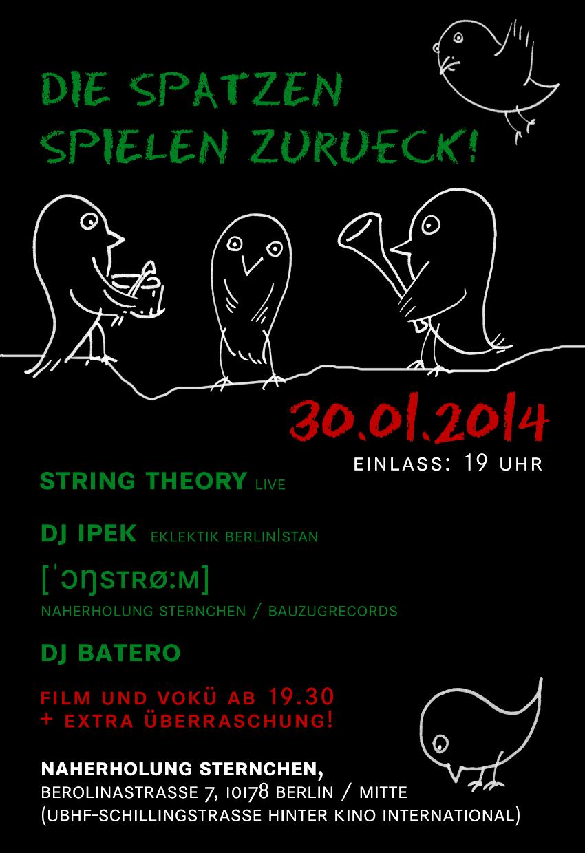 30.01.2014 Soli-Party im Naherholung Sternchen!