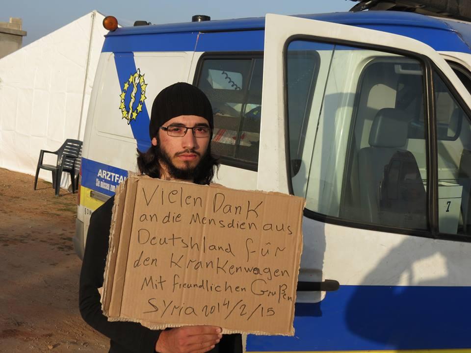 Aufruf: Medizinische Hilfe für Syrien