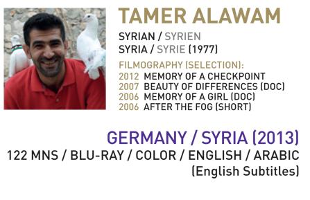 """Spezialpreis der Jury für den Film """"Syria Inside"""""""